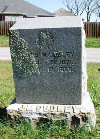 DUDLEY, JAMES M. - Benton County, Arkansas | JAMES M. DUDLEY - Arkansas Gravestone Photos