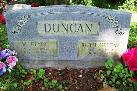 GREENE DUNCAN, RUTH - Benton County, Arkansas | RUTH GREENE DUNCAN - Arkansas Gravestone Photos