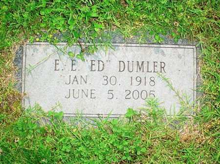 "DUMLER, E. E. ""ED"" - Benton County, Arkansas 