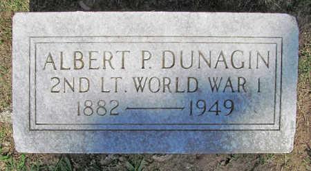 DUNAGIN (VETERAN WWI), ALBERT P - Benton County, Arkansas | ALBERT P DUNAGIN (VETERAN WWI) - Arkansas Gravestone Photos