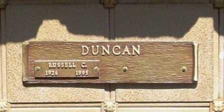 DUNCAN, RUSSELL C. - Benton County, Arkansas | RUSSELL C. DUNCAN - Arkansas Gravestone Photos