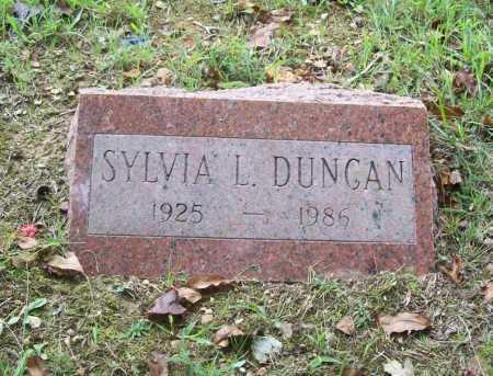 DUNCAN, SYLVIA L. - Benton County, Arkansas | SYLVIA L. DUNCAN - Arkansas Gravestone Photos