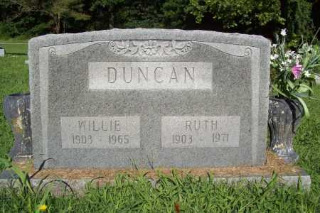 DUNCAN, WILLIE - Benton County, Arkansas | WILLIE DUNCAN - Arkansas Gravestone Photos