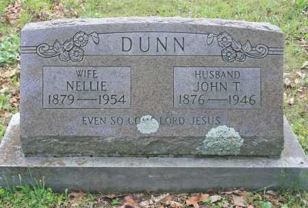 DUNN, JOHN T. - Benton County, Arkansas | JOHN T. DUNN - Arkansas Gravestone Photos