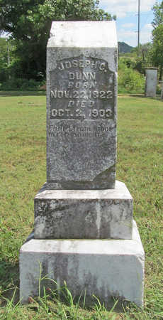 DUNN, JOSEPH C - Benton County, Arkansas | JOSEPH C DUNN - Arkansas Gravestone Photos