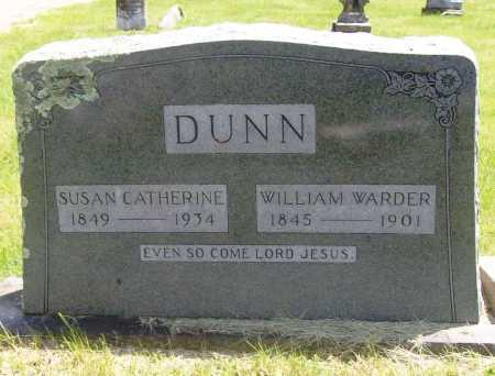 DUNN, WILLIAM WARDER - Benton County, Arkansas | WILLIAM WARDER DUNN - Arkansas Gravestone Photos