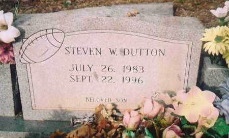 DUTTON, STEVEN W. - Benton County, Arkansas | STEVEN W. DUTTON - Arkansas Gravestone Photos
