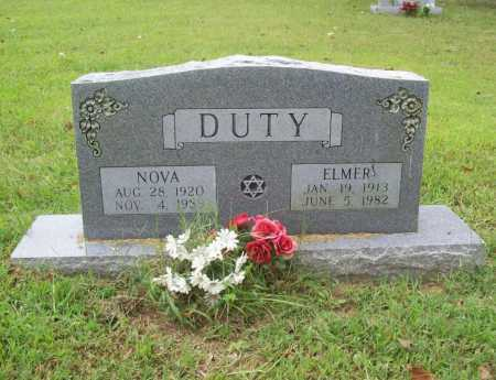DUTY, ELMER - Benton County, Arkansas | ELMER DUTY - Arkansas Gravestone Photos