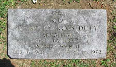 DUTY (VETERAN WWII), CHARLEY ROSS - Benton County, Arkansas | CHARLEY ROSS DUTY (VETERAN WWII) - Arkansas Gravestone Photos
