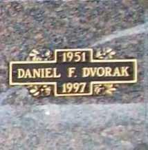 DVORAK, DANIEL F. - Benton County, Arkansas | DANIEL F. DVORAK - Arkansas Gravestone Photos