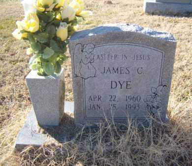 DYE, JAMES C. - Benton County, Arkansas | JAMES C. DYE - Arkansas Gravestone Photos