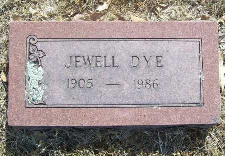 HEDWOOD DYE, JEWELL - Benton County, Arkansas | JEWELL HEDWOOD DYE - Arkansas Gravestone Photos