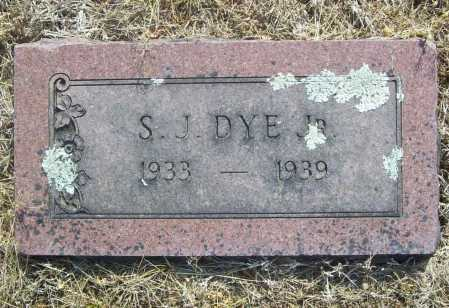 DYE, SHADE J. JR. - Benton County, Arkansas | SHADE J. JR. DYE - Arkansas Gravestone Photos