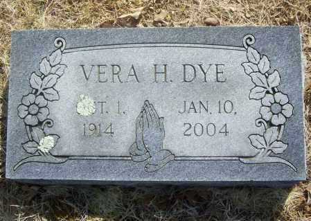 DYE, VERA HELEN - Benton County, Arkansas | VERA HELEN DYE - Arkansas Gravestone Photos