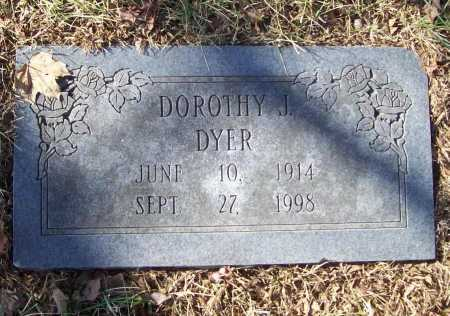 DYER, DOROTHY J. - Benton County, Arkansas | DOROTHY J. DYER - Arkansas Gravestone Photos
