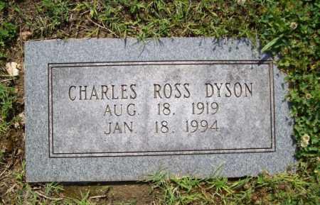 DYSON, CHARLES ROSS - Benton County, Arkansas | CHARLES ROSS DYSON - Arkansas Gravestone Photos
