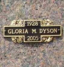 ASCHBRENNER DYSON, GLORIA MAE - Benton County, Arkansas | GLORIA MAE ASCHBRENNER DYSON - Arkansas Gravestone Photos