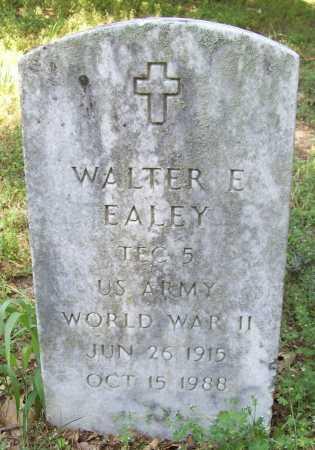 EALEY (VETERAN WWII), WALTER E - Benton County, Arkansas | WALTER E EALEY (VETERAN WWII) - Arkansas Gravestone Photos