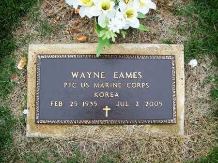 EAMES (VETERAN KOR), WAYNE - Benton County, Arkansas | WAYNE EAMES (VETERAN KOR) - Arkansas Gravestone Photos