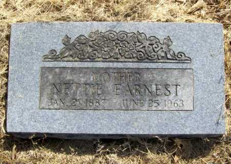 EARNEST, NETTIE - Benton County, Arkansas | NETTIE EARNEST - Arkansas Gravestone Photos