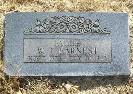 EARNEST, W. T. - Benton County, Arkansas | W. T. EARNEST - Arkansas Gravestone Photos