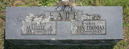 EARP, JOHN THOMAS - Benton County, Arkansas | JOHN THOMAS EARP - Arkansas Gravestone Photos