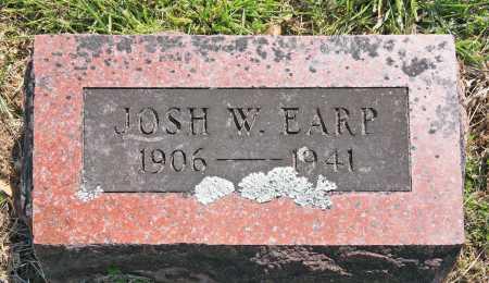 EARP, JOSH W. - Benton County, Arkansas | JOSH W. EARP - Arkansas Gravestone Photos