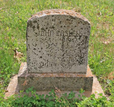 EASLEY, JOHN - Benton County, Arkansas   JOHN EASLEY - Arkansas Gravestone Photos