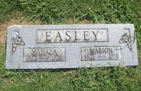 EASLEY, MARION - Benton County, Arkansas | MARION EASLEY - Arkansas Gravestone Photos