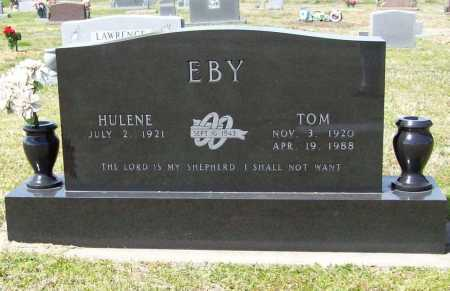"EBY, ERNEST THOMAS ""TOM"" - Benton County, Arkansas 