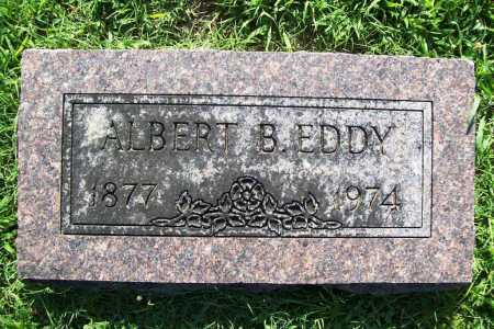 EDDY, ALBERT B. - Benton County, Arkansas | ALBERT B. EDDY - Arkansas Gravestone Photos