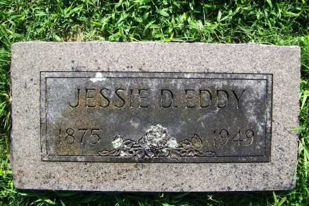 EDDY, JESSIE D. - Benton County, Arkansas | JESSIE D. EDDY - Arkansas Gravestone Photos
