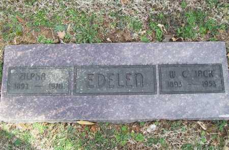 EDELEN (VETERAN WWI), WILLIAM C - Benton County, Arkansas | WILLIAM C EDELEN (VETERAN WWI) - Arkansas Gravestone Photos