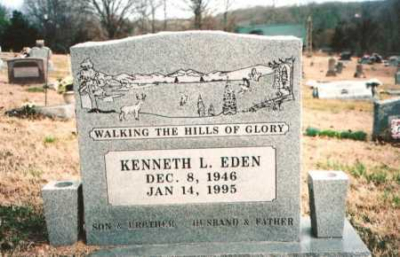 EDEN, KENNETH L. - Benton County, Arkansas | KENNETH L. EDEN - Arkansas Gravestone Photos
