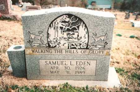 EDEN, SAMUEL L. - Benton County, Arkansas | SAMUEL L. EDEN - Arkansas Gravestone Photos
