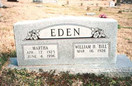"EDEN, WILLIAM H. ""BILL"" - Benton County, Arkansas 