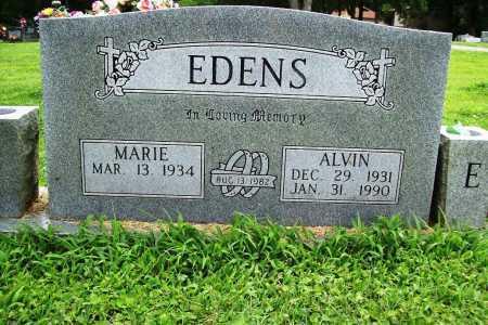 EDENS, ALVIN - Benton County, Arkansas | ALVIN EDENS - Arkansas Gravestone Photos