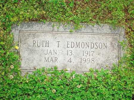 EDMONDSON, RUTH T - Benton County, Arkansas | RUTH T EDMONDSON - Arkansas Gravestone Photos