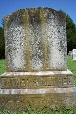 EDWARDS, ELIZABETH J. - Benton County, Arkansas | ELIZABETH J. EDWARDS - Arkansas Gravestone Photos