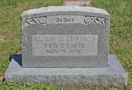 EDWARDS, ELVES E. - Benton County, Arkansas | ELVES E. EDWARDS - Arkansas Gravestone Photos