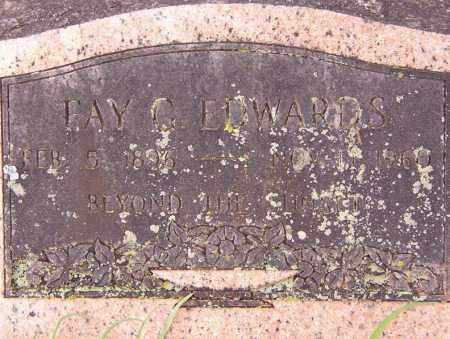EDWARDS, FAY G. - Benton County, Arkansas | FAY G. EDWARDS - Arkansas Gravestone Photos