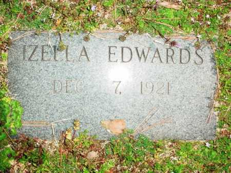 EDWARDS, IZELLA - Benton County, Arkansas | IZELLA EDWARDS - Arkansas Gravestone Photos