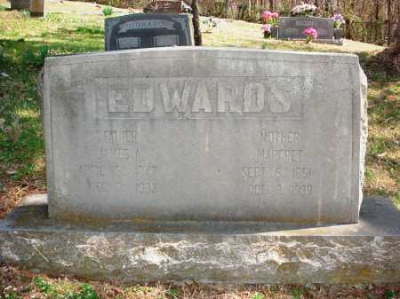 EDWARDS, JAMES A - Benton County, Arkansas | JAMES A EDWARDS - Arkansas Gravestone Photos