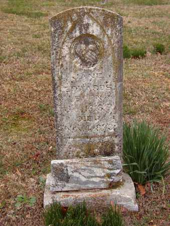 EDWARDS, JANE - Benton County, Arkansas | JANE EDWARDS - Arkansas Gravestone Photos