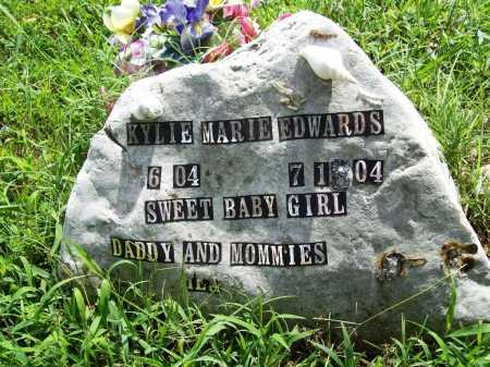 EDWARDS, KYLIE MARIE - Benton County, Arkansas | KYLIE MARIE EDWARDS - Arkansas Gravestone Photos