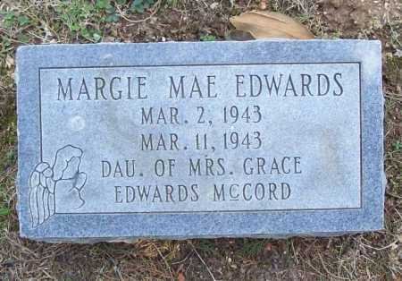 EDWARDS, MARGIE MAE - Benton County, Arkansas | MARGIE MAE EDWARDS - Arkansas Gravestone Photos