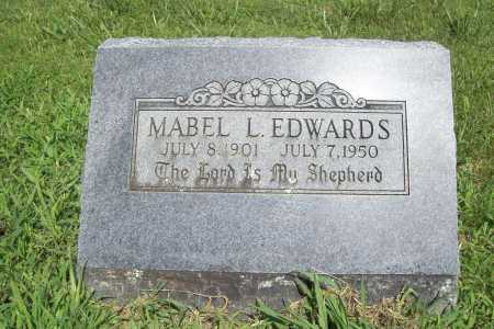 EDWARDS, MABEL L - Benton County, Arkansas | MABEL L EDWARDS - Arkansas Gravestone Photos