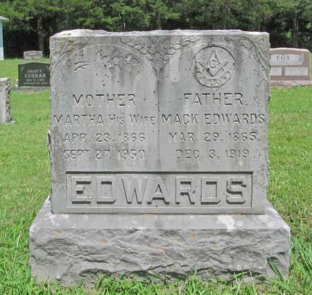 EDWARDS, MACK - Benton County, Arkansas | MACK EDWARDS - Arkansas Gravestone Photos
