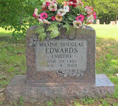 SMITH EDWARDS, MAXINE DOUGLAS - Benton County, Arkansas | MAXINE DOUGLAS SMITH EDWARDS - Arkansas Gravestone Photos