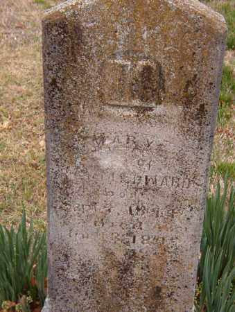 EDWARDS, MARY - Benton County, Arkansas | MARY EDWARDS - Arkansas Gravestone Photos